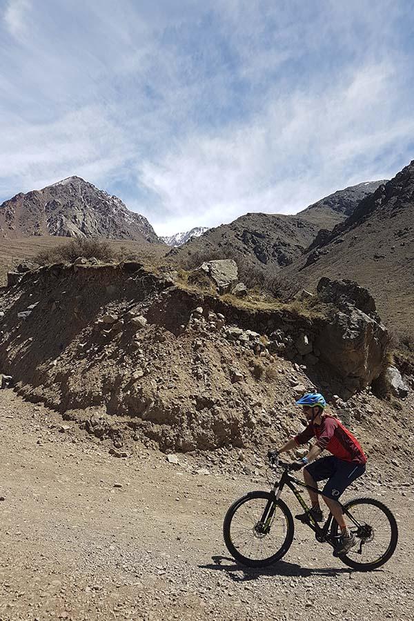 MTB Tour Mendoza Mountains